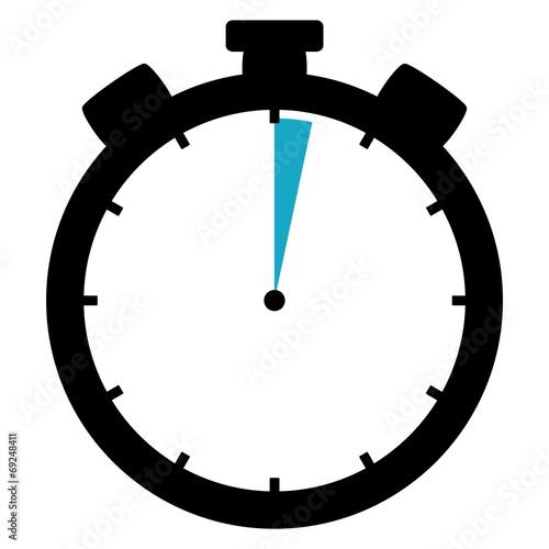 Stoppuhr: 2 Sekunden / 2 Minuten