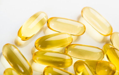Vitamin E fish oil capsule