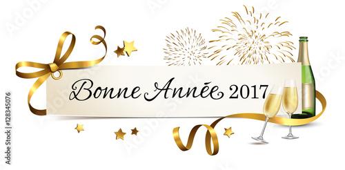 Carte De Salutations Avec Champagne Et Feu Dartifice