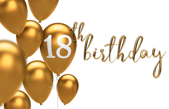 18th birthday background images
