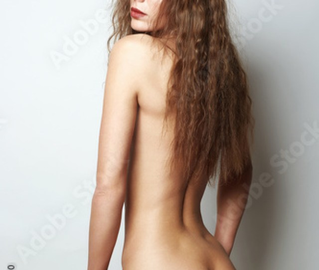 Back Af Nude Woman Sexy Naked Girl