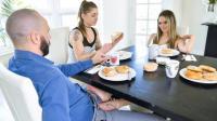 FamilyStrokes   Athena Faris   Some Under The Table Footplay
