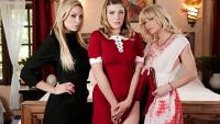 GirlsWay   Kenzie Taylor, Giselle Palmer, Serene Siren   Teen Witch A Chilling Adventures Of Sabrina Parody