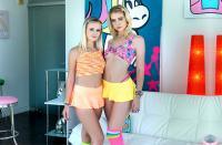 AllAnal   Chloe Cherry, Natalia Queen   Ass Gaping Drills