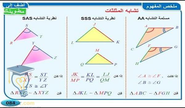 بحث عن المثلثات المتطابقة في الرياضيات