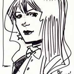 Sketch von Rebekah Isaacs