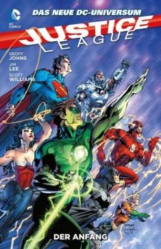 Justice League Paperback 1: Der Anfang (HC)