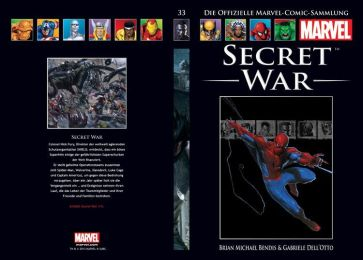 Hachette Marvel Collection 10: Secret War