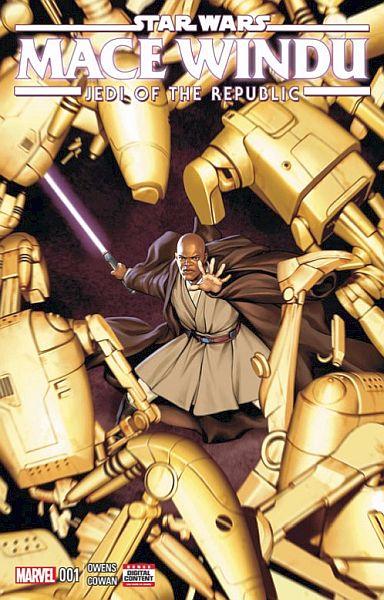 Star Wars: Mace Windu — Jedi Of The Republic #1