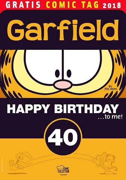 Garfield 40Jahre (Ehapa)