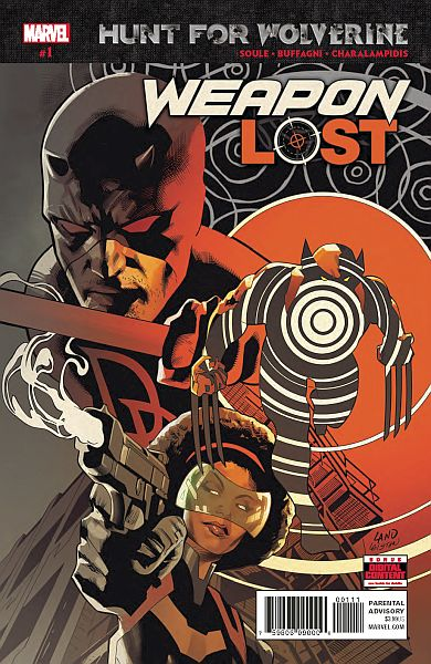 HUNT FOR WOLVERINE WEAPON LOST #1 (OF 4)