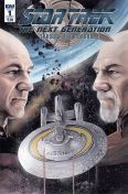 STAR TREK TNG THROUGH THE MIRROR #1