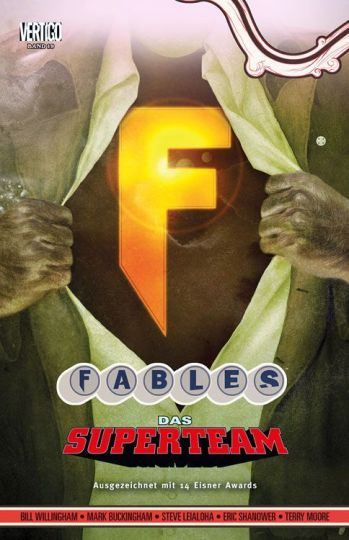 Fables 19: Das Superteam