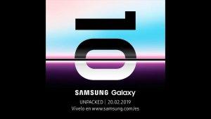 Samsung México invita a sus fans al Galaxy Unpacked 2019