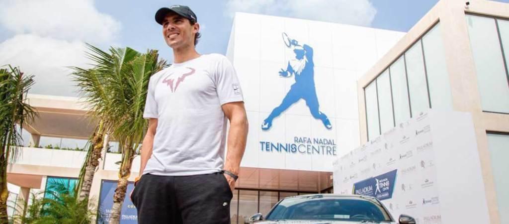 "Se inaugura en México el primer ""Rafa Nadal Tennis Centre"" del mundo"