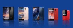 Nokia devela cuatro nuevos smartphones en MWC 2019