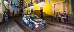 Hyundai busca estar en lo más alto del podio en el Rally de Guanajuato