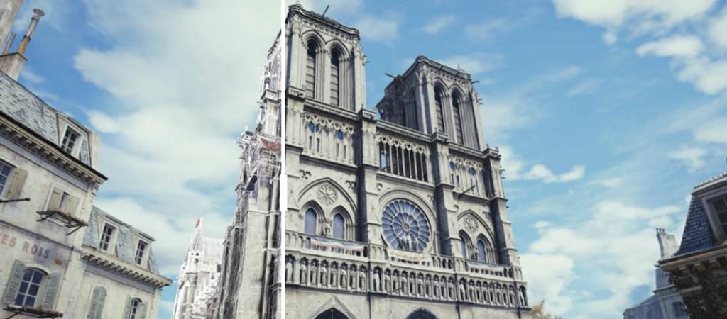 Ubisoft reconstruye la Catedral de Notre Dame