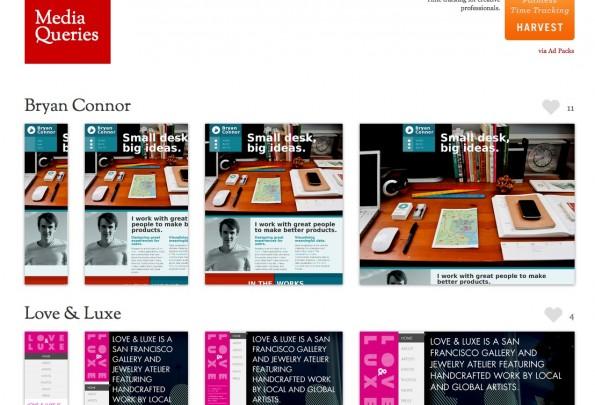 MediaQueries CSS3 Startseite