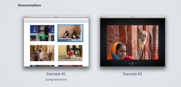 jQuery Slideshow Responsive Webdesign Glisse