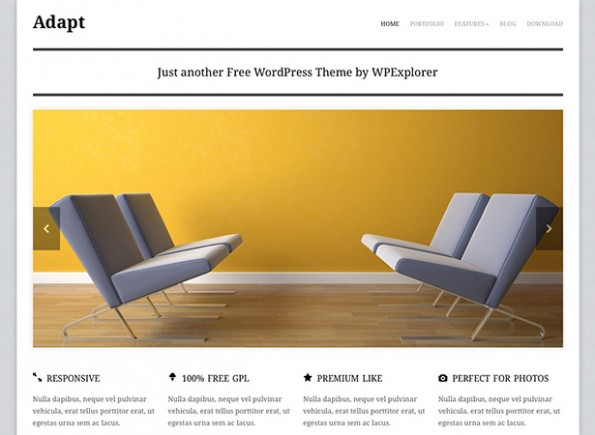 WordPress Theme adapt