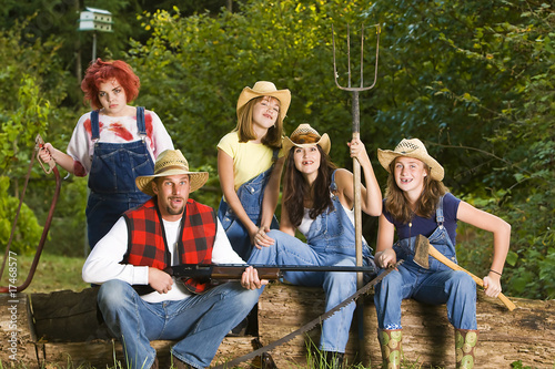 Hillbilly Family Stock Photo And Royalty Free Images On