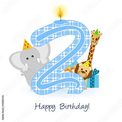 Auguri Di Buon Compleanno Per Bambini Di 2 Anni