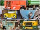 Collage DDR LKWs