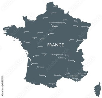 Orleans Map France Edi Maps Full HD Maps - Orleans france map