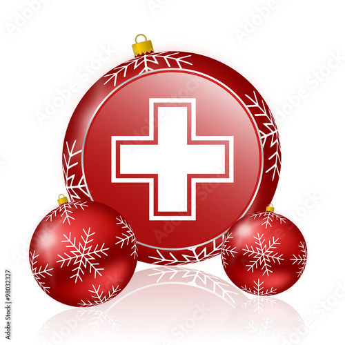 Pharmacy Christmas Icon Stock Photo And Royalty Free