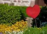 Herz im Garten