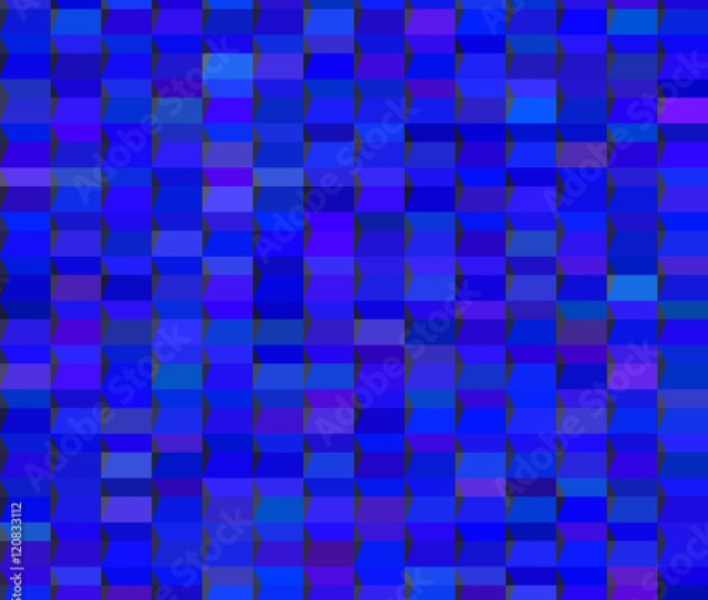 Abstract Geometric Seamless Pattern Fashion Graphic Background Design Modern Stylish Blue Color Texture