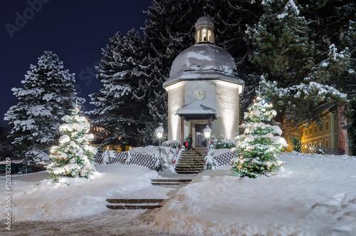Stille Nacht Kapelle Oberndorf Stockfotos Und