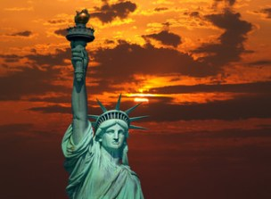 Statue Of Liberty Sunrise photos, royalty-free images, graphics, vectors &  videos | Adobe Stock
