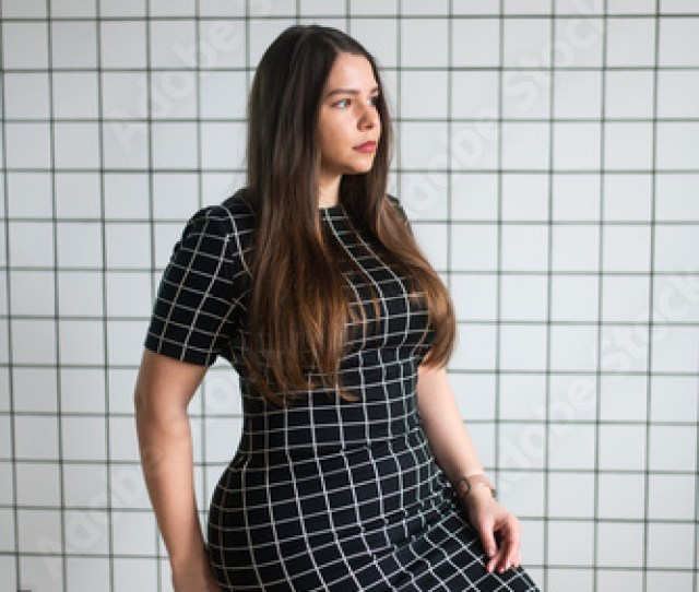 Plus Size Woman Curvy Model Voluptuous Silhouette And Body Curvy Hips Plump Girl Voluptuous Hourglass Figure
