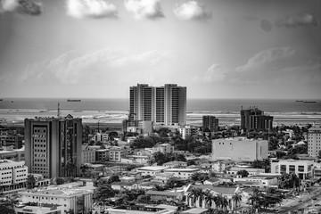 view of Lagos city