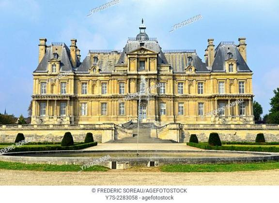 Maison laffitte Stock Photos and Images   age fotostock Castle of Maisons Laffitte  Yvelines   78   France