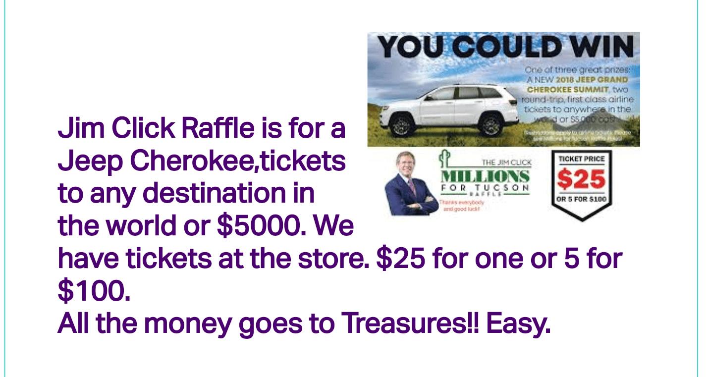 Jim Click Tucson >> Treasures4teachers Of Tucson Jim Click Millions For