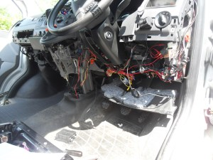 VW T5 Kombi Conversion » Split Charge Installation