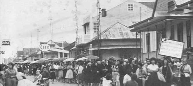 La Huelga de Brazos Caídos y Guerra Civil de 1948