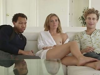 Stunning Big Boobed Cougar Mona Wales In A Truly Hot Backstage Xxx Movie
