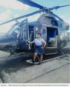 Pindula News Annita Mapiye Pilot airforce