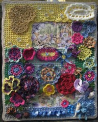 barbara fiorentini, canvas, crochet