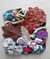 ombretta, barbara fiorentini, crochet, canvas