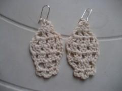 orecchini, cotone, crochet, barbara fiorentini