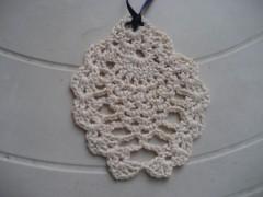 ciondolo, cotone, crochet, barbara fiorentini