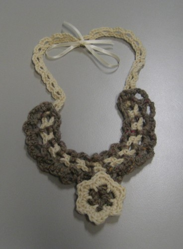 collana, The Wool Box, crochet, lana