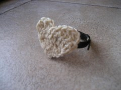 cuore, pecunia, aquilana, crochet, barbara fiorentini