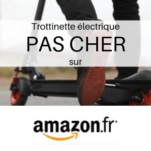 Trottinette électrique PAS CHER chez Amazon
