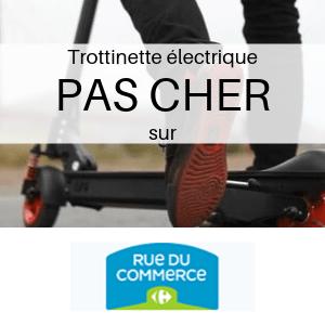 Trottinette électrique PAS CHER chez Carrefour
